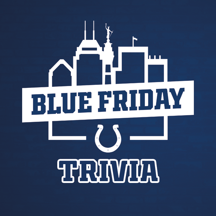 Join us for Blue Friday Trivia!