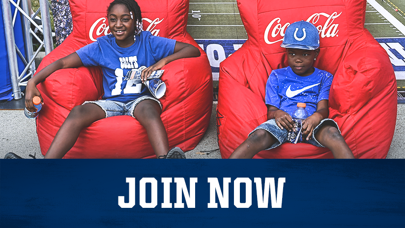 Indianapolis Colts Kids Club Join Now