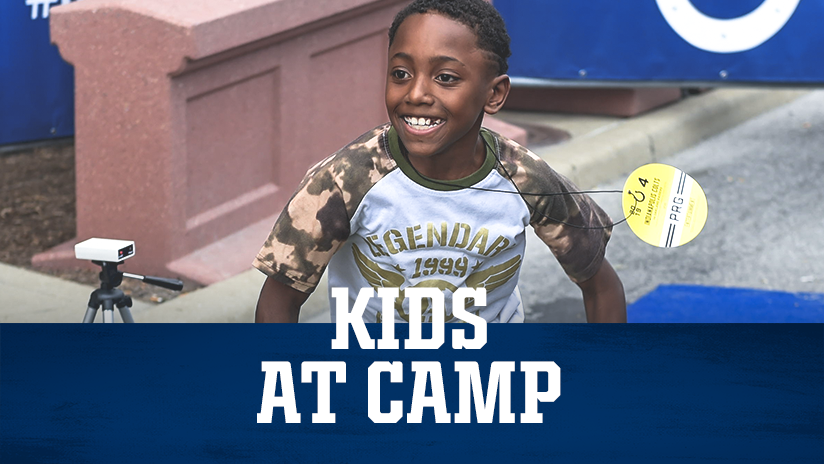 Indianapolis Colts Kids At Camp