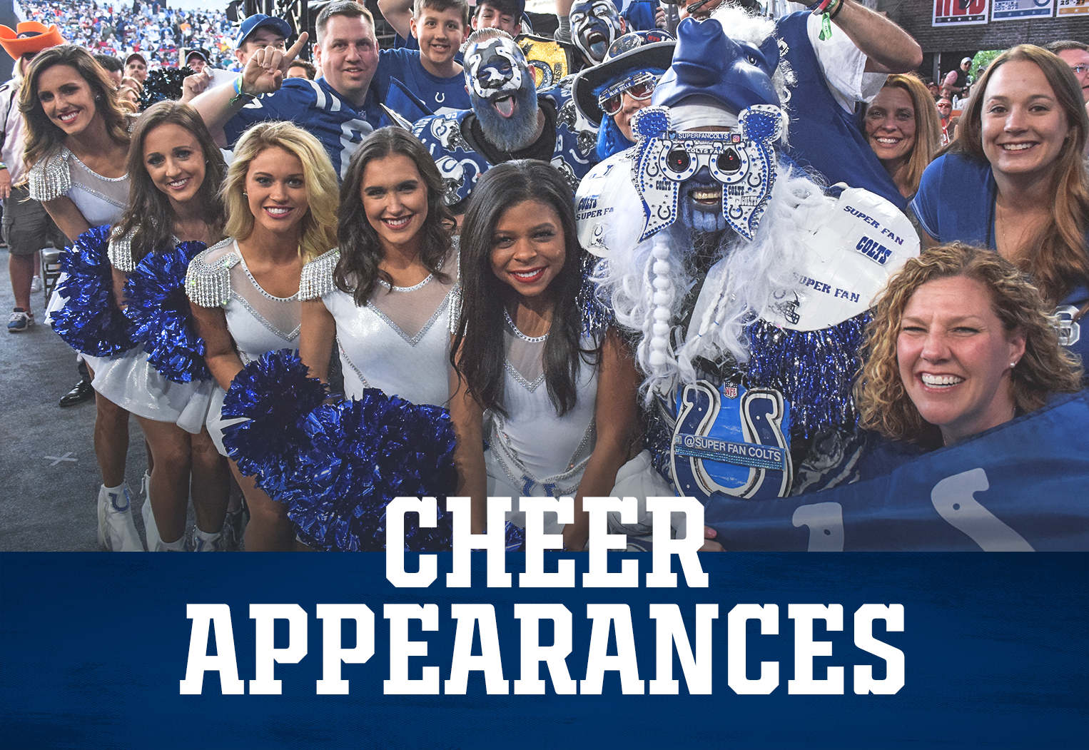 Indianapolis Colts Cheer Appearances