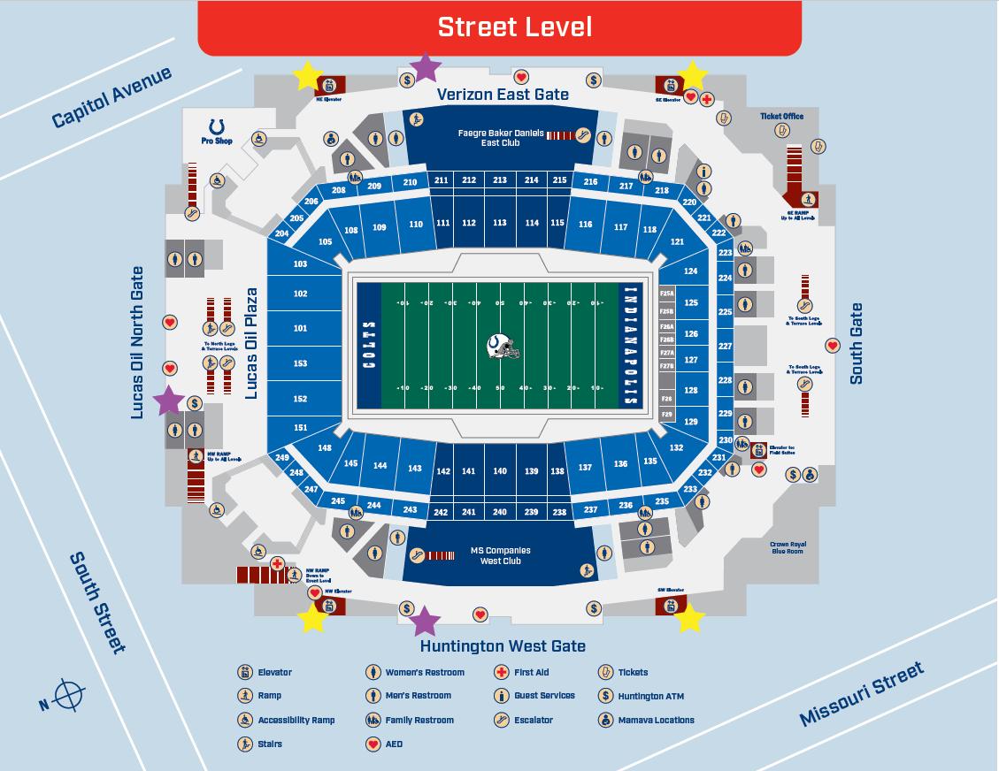 VIP Entrances Map