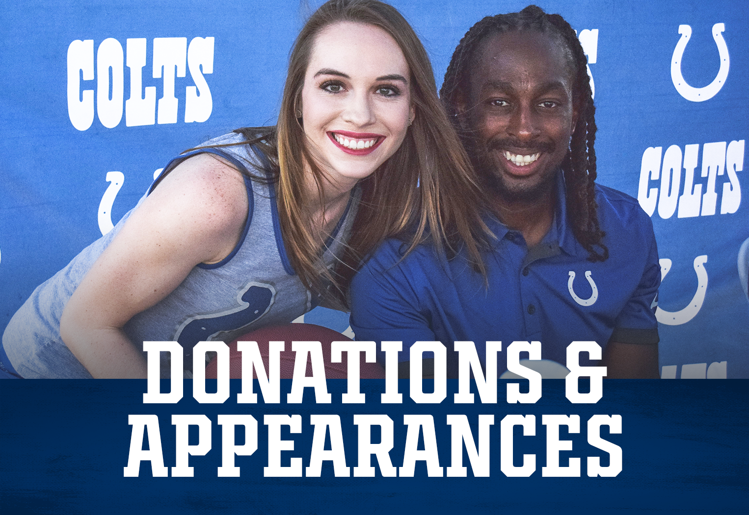 Indianapolis Colts Donations And Appearances