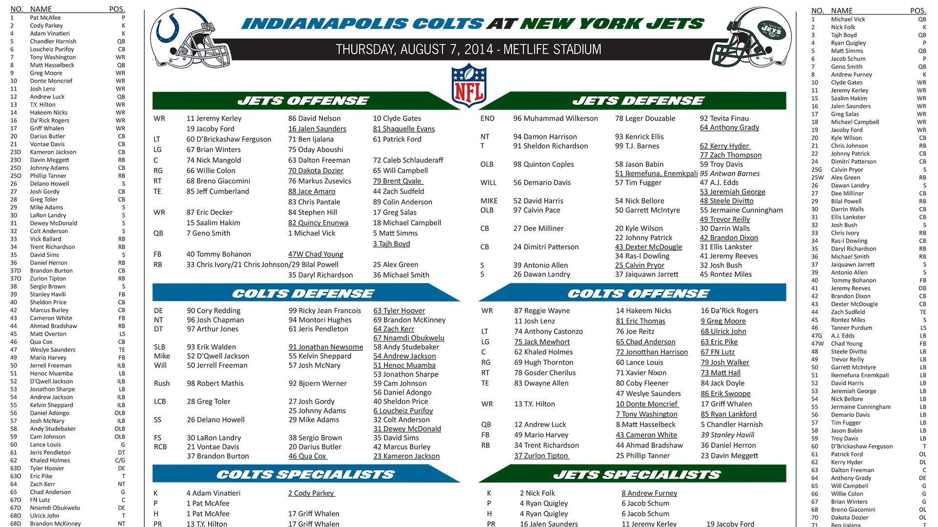 2014 Flip Cards
