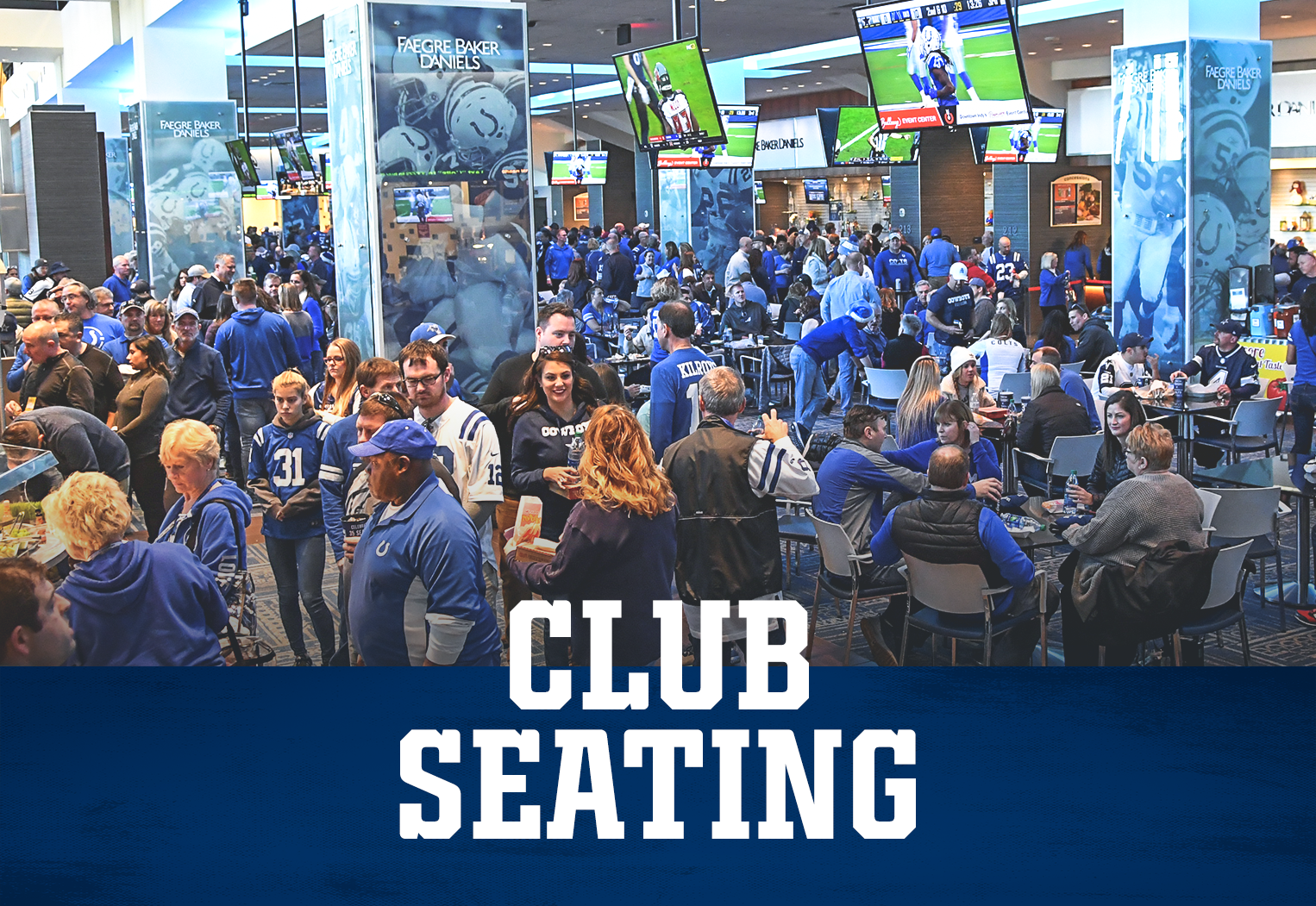 Indianapolis Colts Club Seating At Lucas Oil Stadium