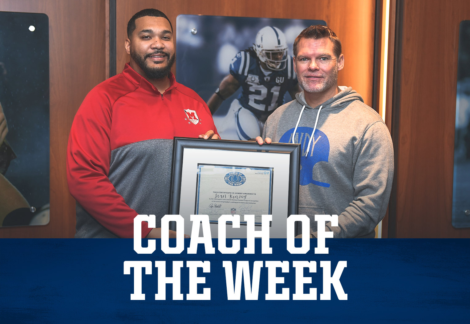 Indianapolis Colts High School Football Coach Of The Week