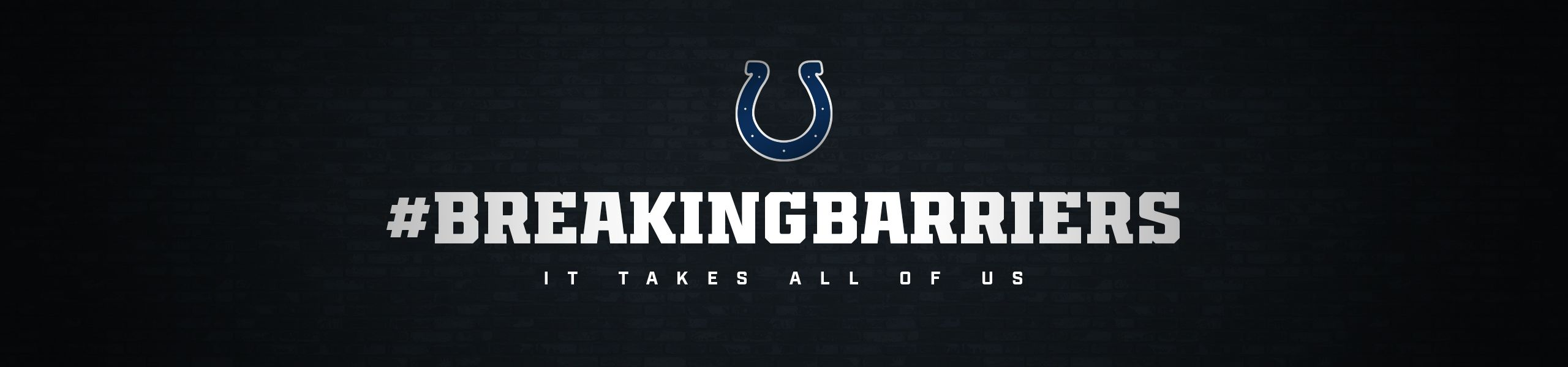 Indianapolis Colts Breaking Barriers Social Justice Initiative  It Takes All Of Us