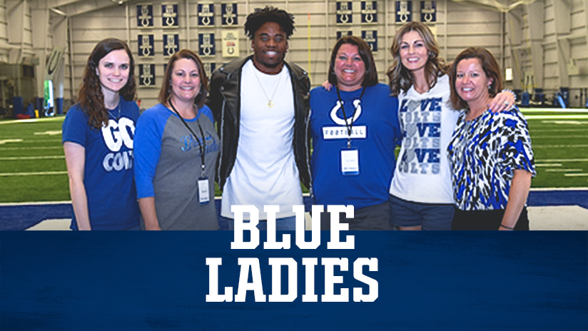 Indianapolis Colts Blue Ladies