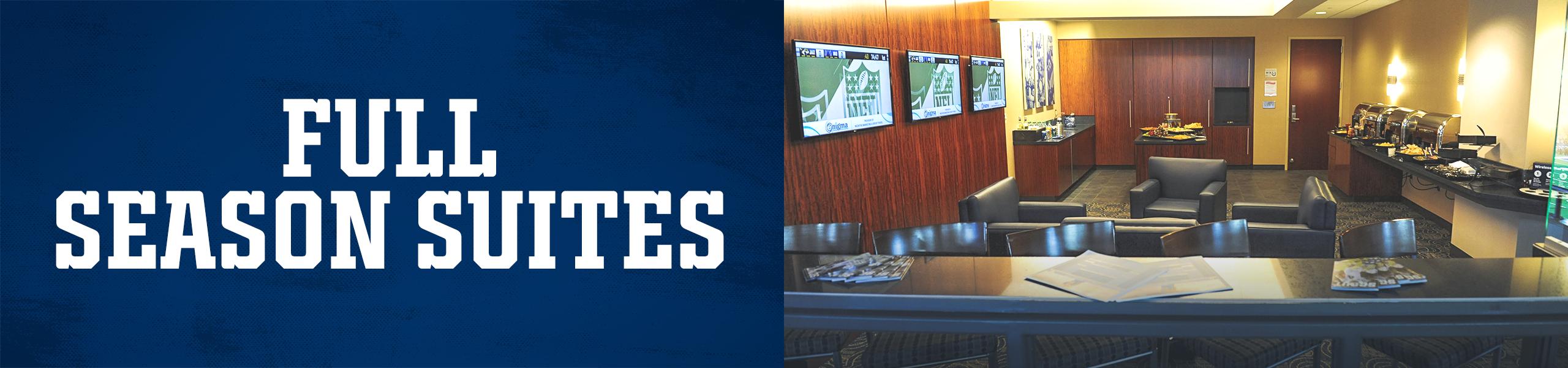 Indianapolis Colts Full Season Suites At Lucas Oil Stadium