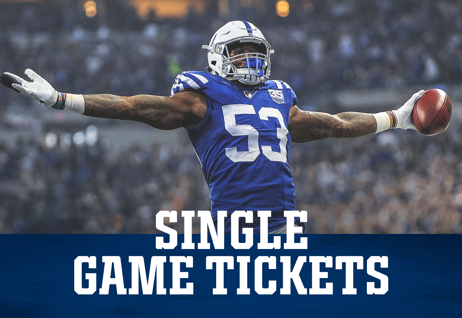 Indianapolis Colts Single Game Tickets At Lucas Oil Stadium