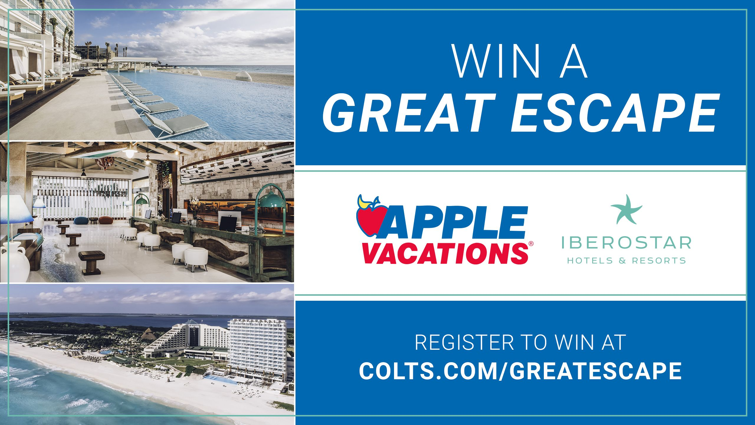 Great Escape presented by Apple Vacations & Coral Level at Iberostar Selection Cancun