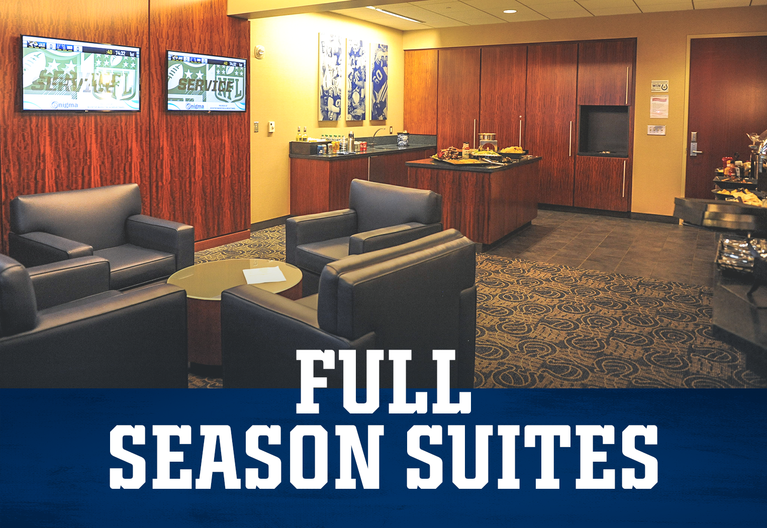 Indianapolis Colts Premium Seating Full Season Suites