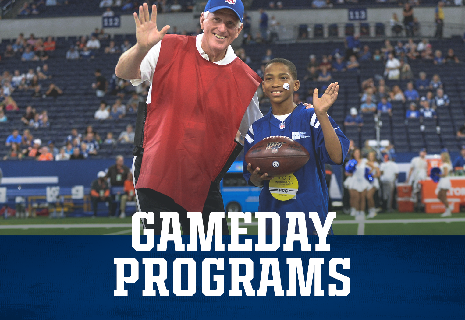 Indianapolis Colts Gameday Programs