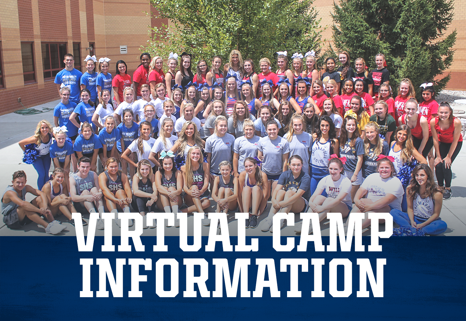 Indianapolis Colts Cheer Virtual Camp Information