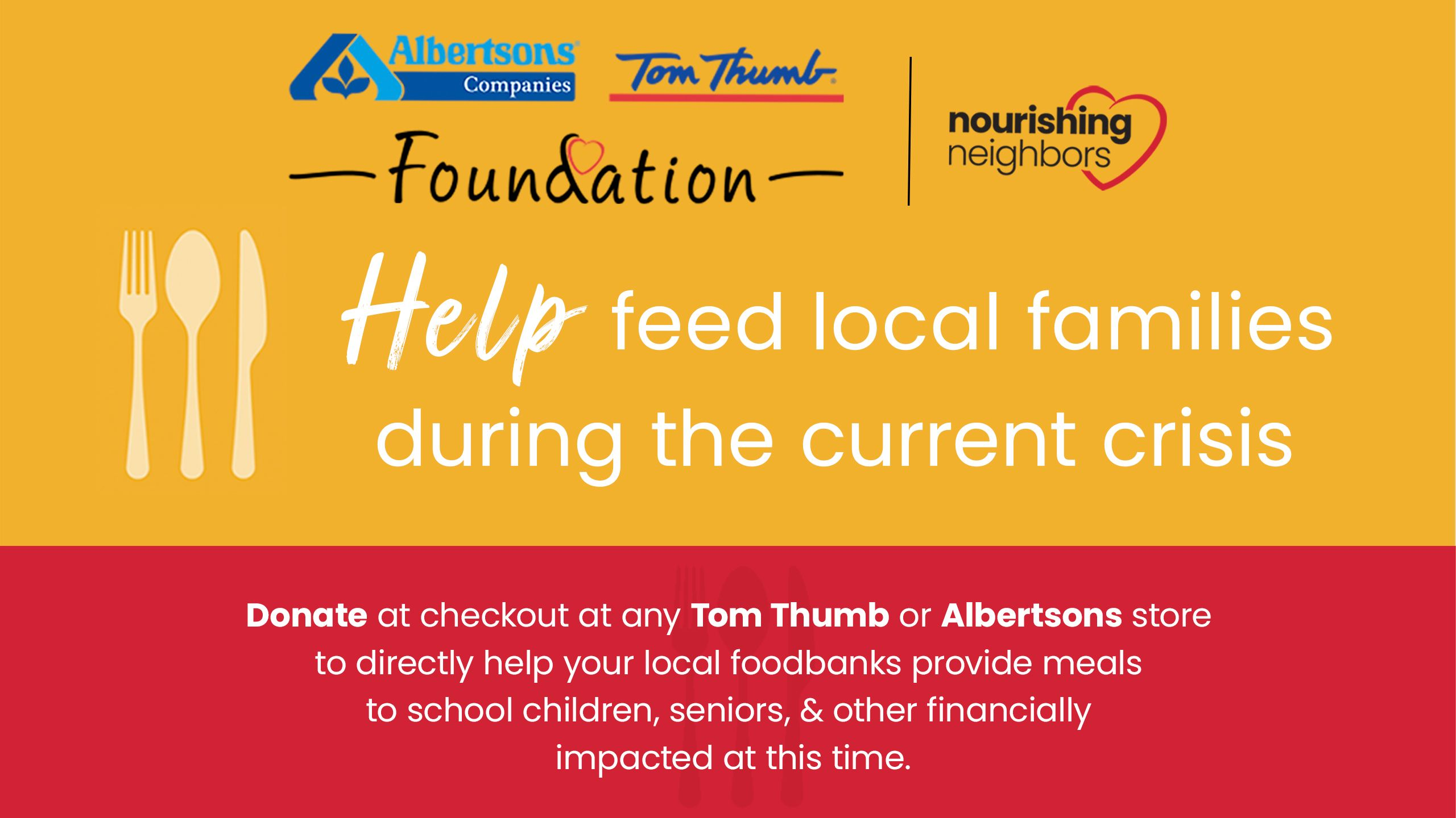 Albertsons Tom Thumb Foundation