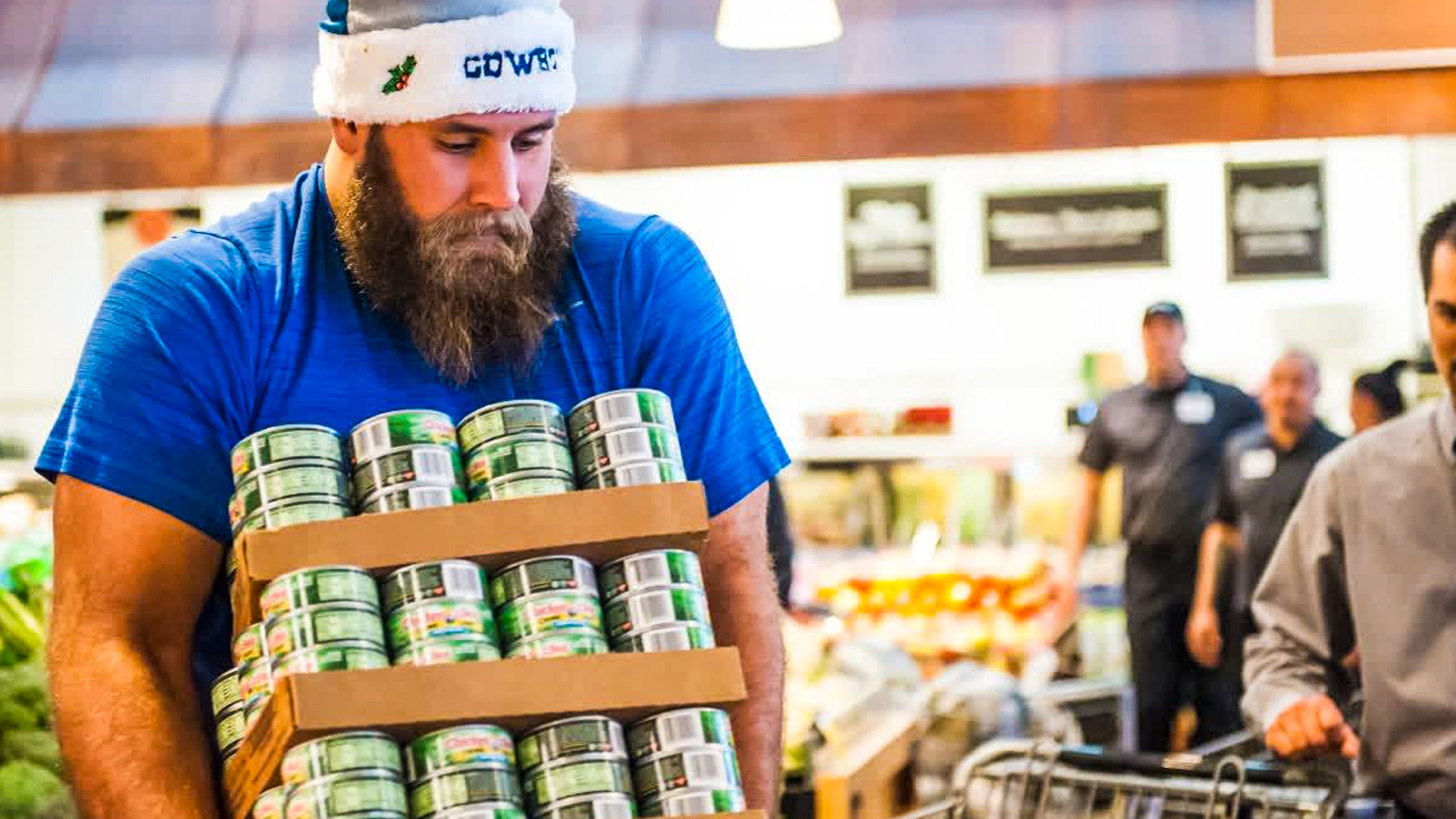 Travis Frederick's Blocking Out Hunger Foundation