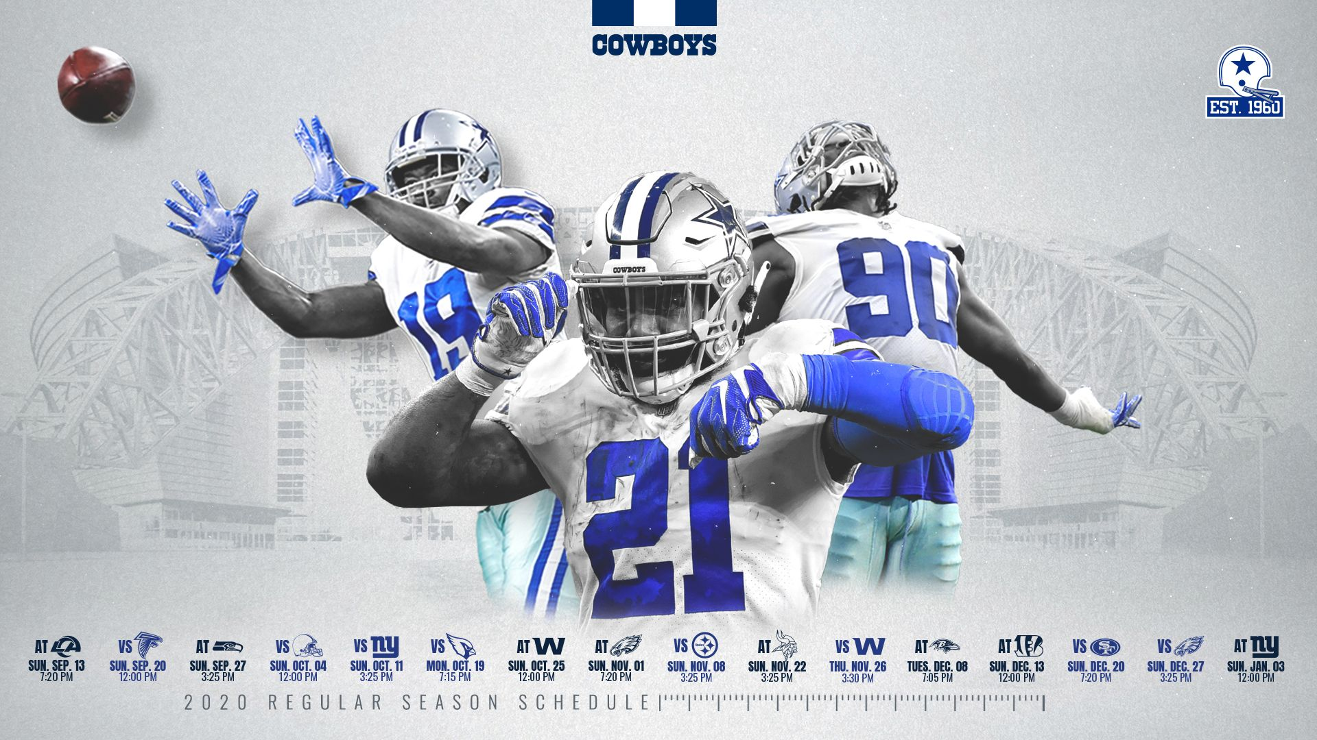 Dallas Cowboys Official Site Of The Dallas Cowboys