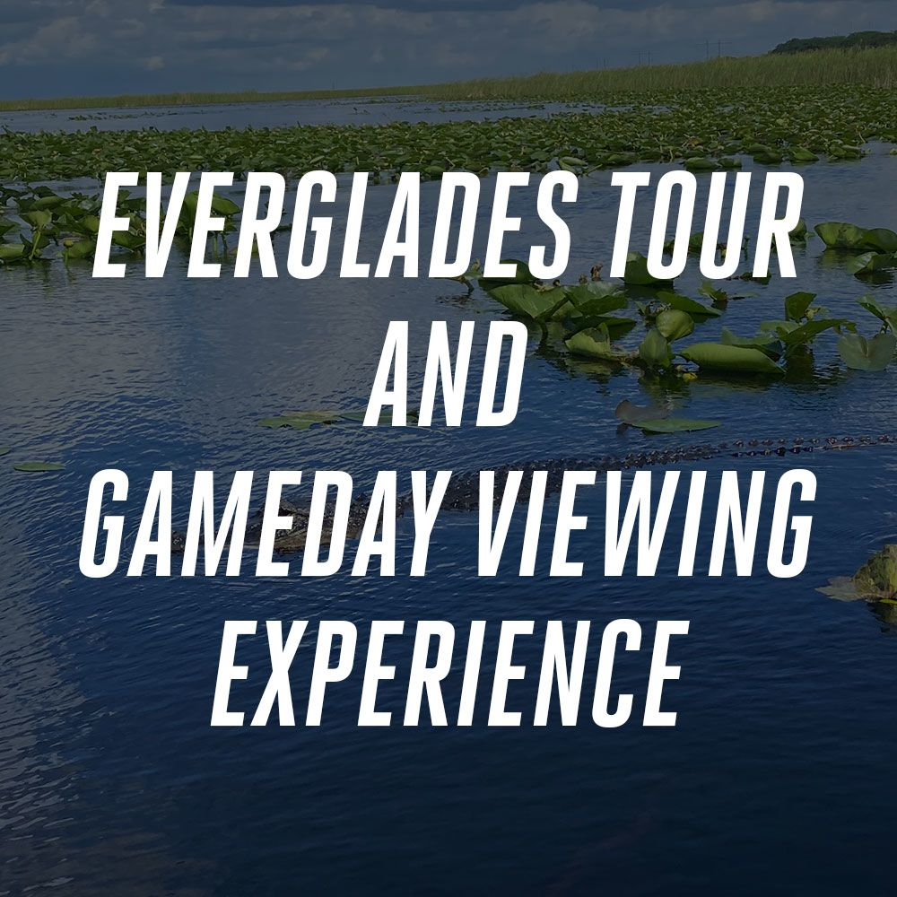 Image: Win Everglades Tour And Gameday Viewing Experience Courtesy Of Bud Light