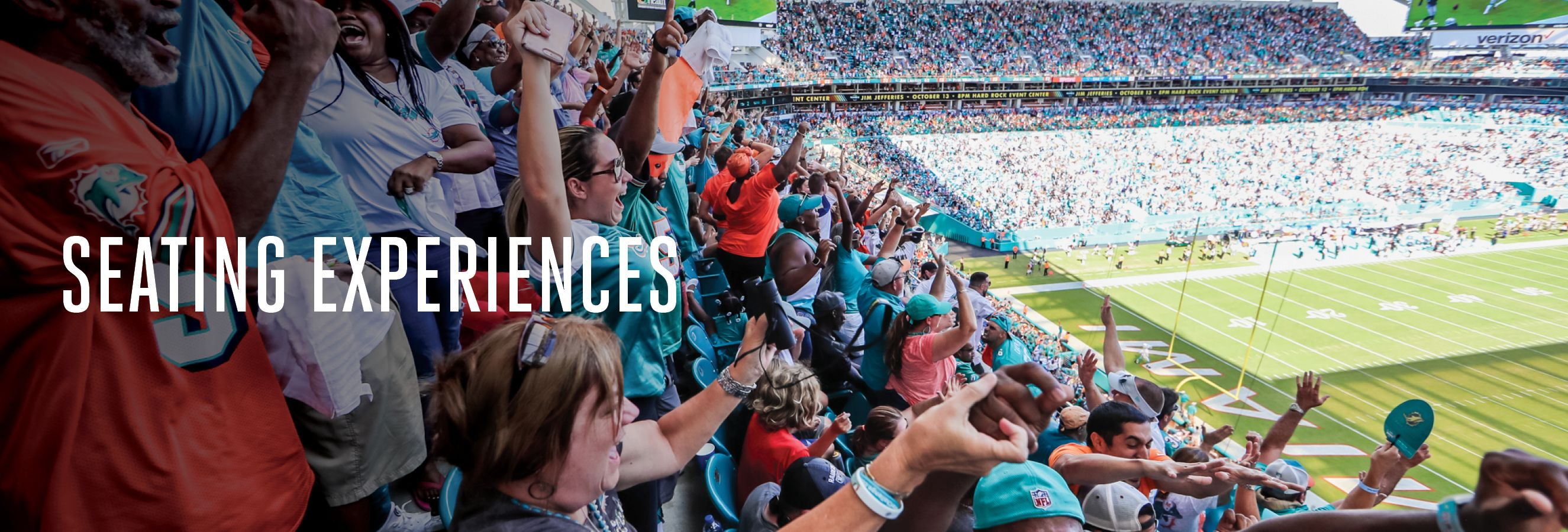 Header: Seating Experiences