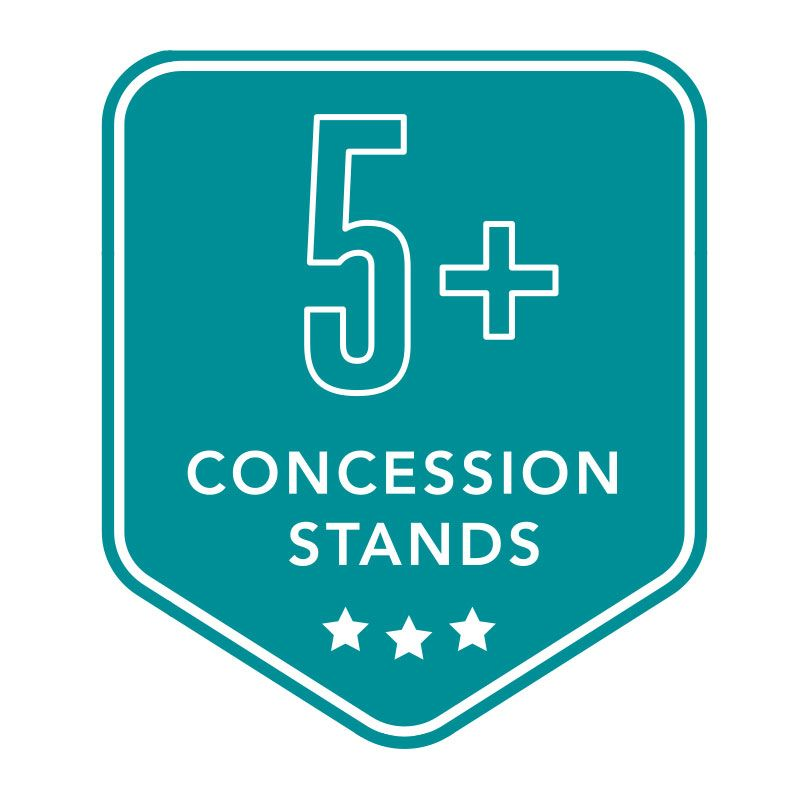 5+ Concession Purchases