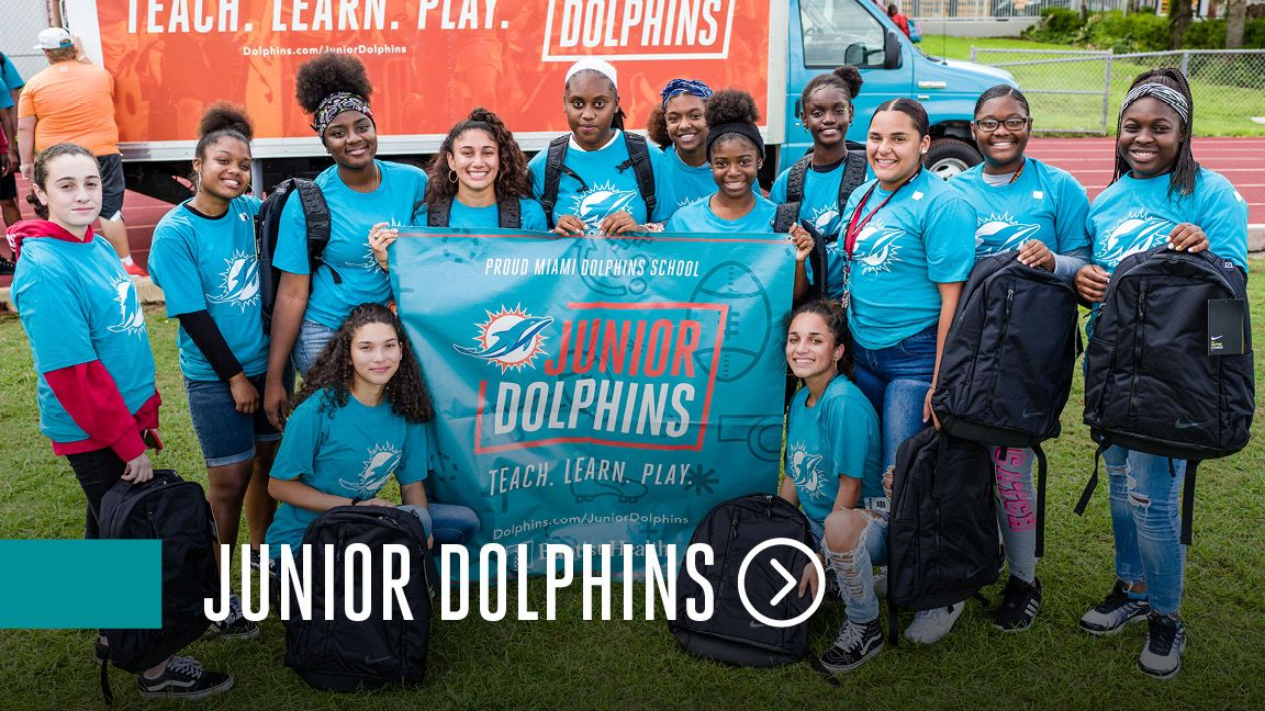 Graphic: Click To Access The Junior Dolphins Website