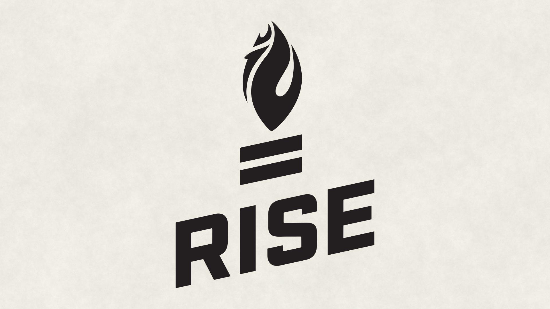 Graphic: Rise To Vote Logo