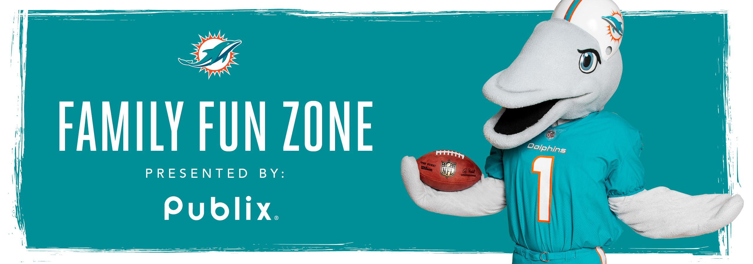 Graphic: Header - Family Fun Zone Presented By Publix