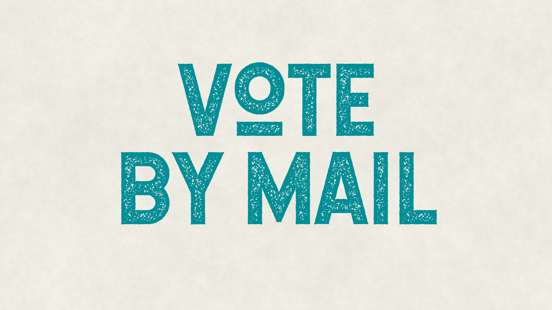 Graphic: Voting - Vote By Mail