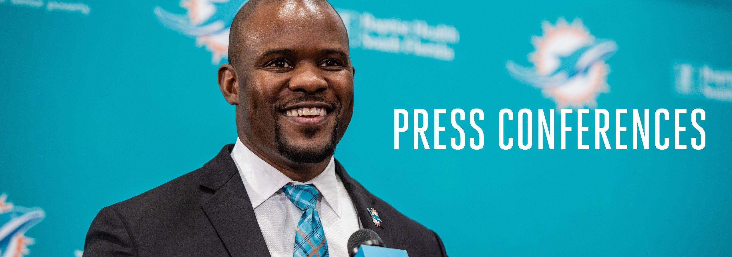 Graphic: Header - Miami Dolphins Press Conferences