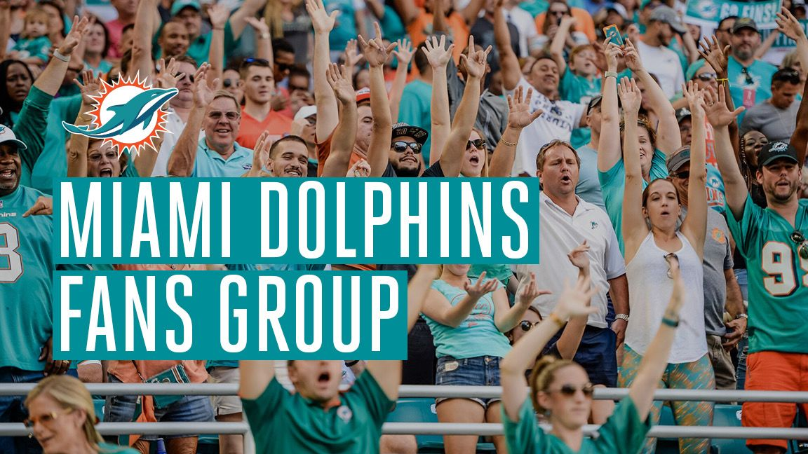Graphic: Join The Official Miami Dolphins Fans Group On Facebook