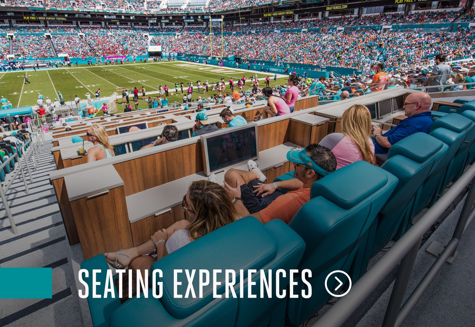 Image: Click Here For More Information On Seating Experiences