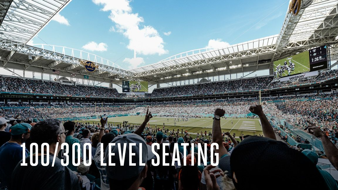 Image: 100 and 300 Level Seating