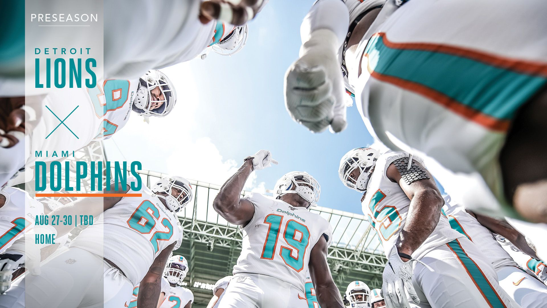 Buy Tickets: Lions vs. Dolphins, August 27-30 at Hard Rock Stadium