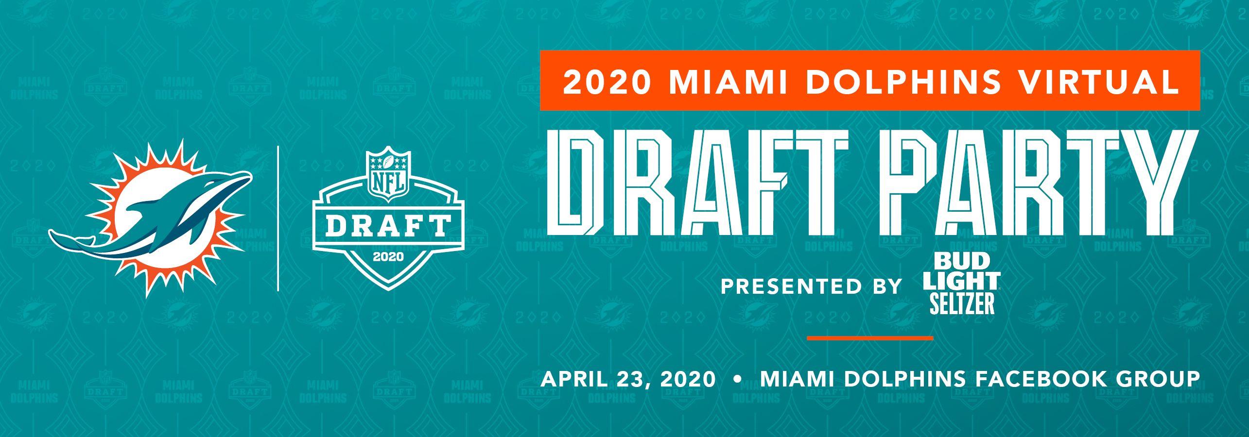 MAR483_Dolphins Draft Party Digital Promo_Website Banner_v2