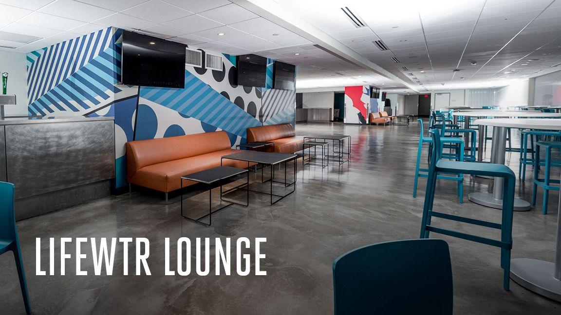 Image: LIFEWTR Lounge