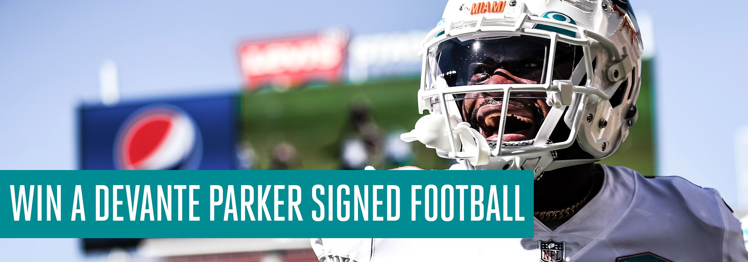 Devante Parker_Signed Football