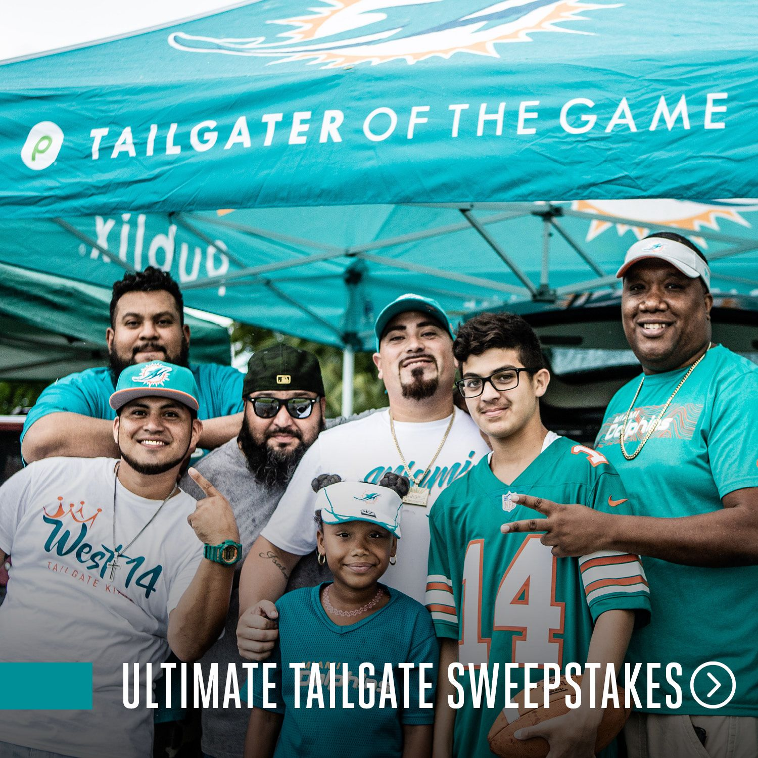 Graphic: Click To Participate In The Publix Ultimate Tailgate Party Sweepstakes