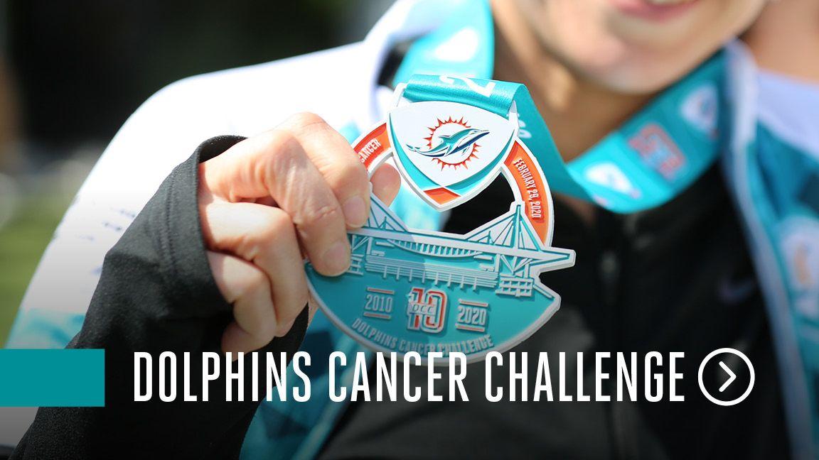 Dolphins Cancer Challenge website