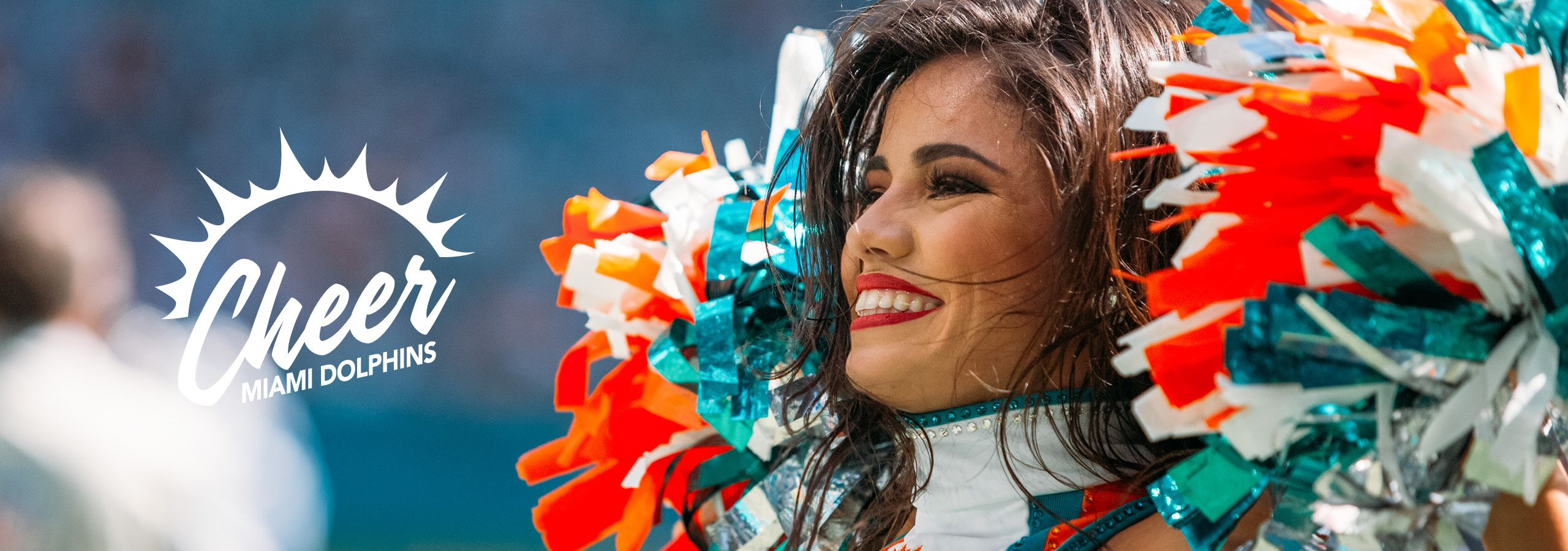 Header Graphic: Miami Dolphins Cheer Logo
