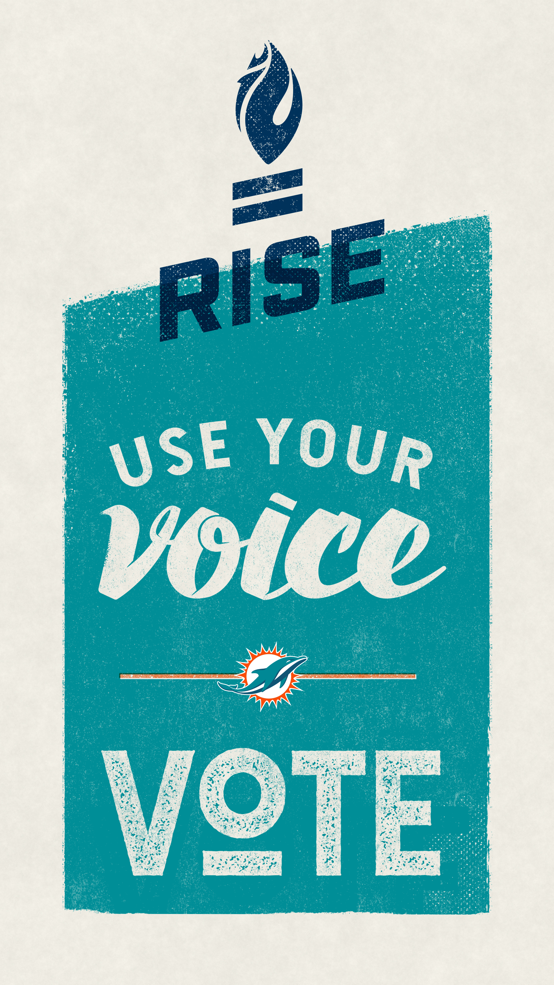 Graphic: Use Your Voice Cell Phone Wallpaper