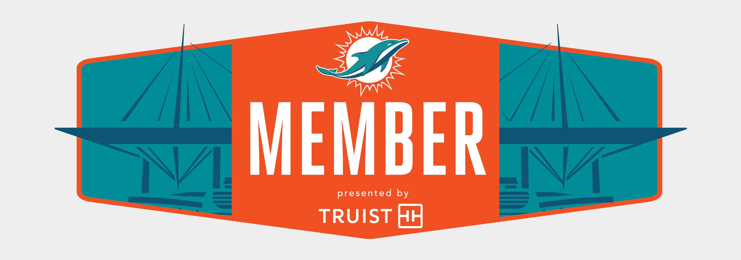 Banner Image: Miami Dolphins Membership Presented By Truist