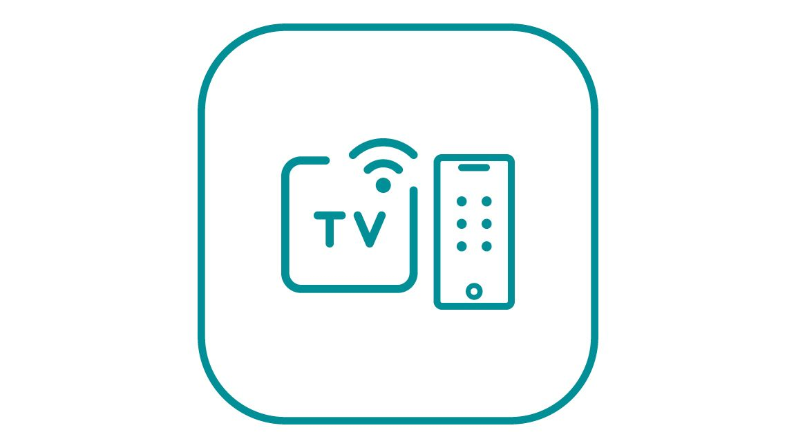 Graphic: Icon - Control Television From Your Cell Phone