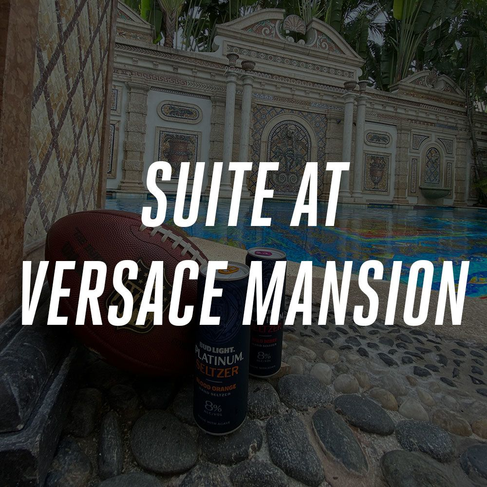 Image: Win Suite At Versace Mansion Courtesy Of Bud Light