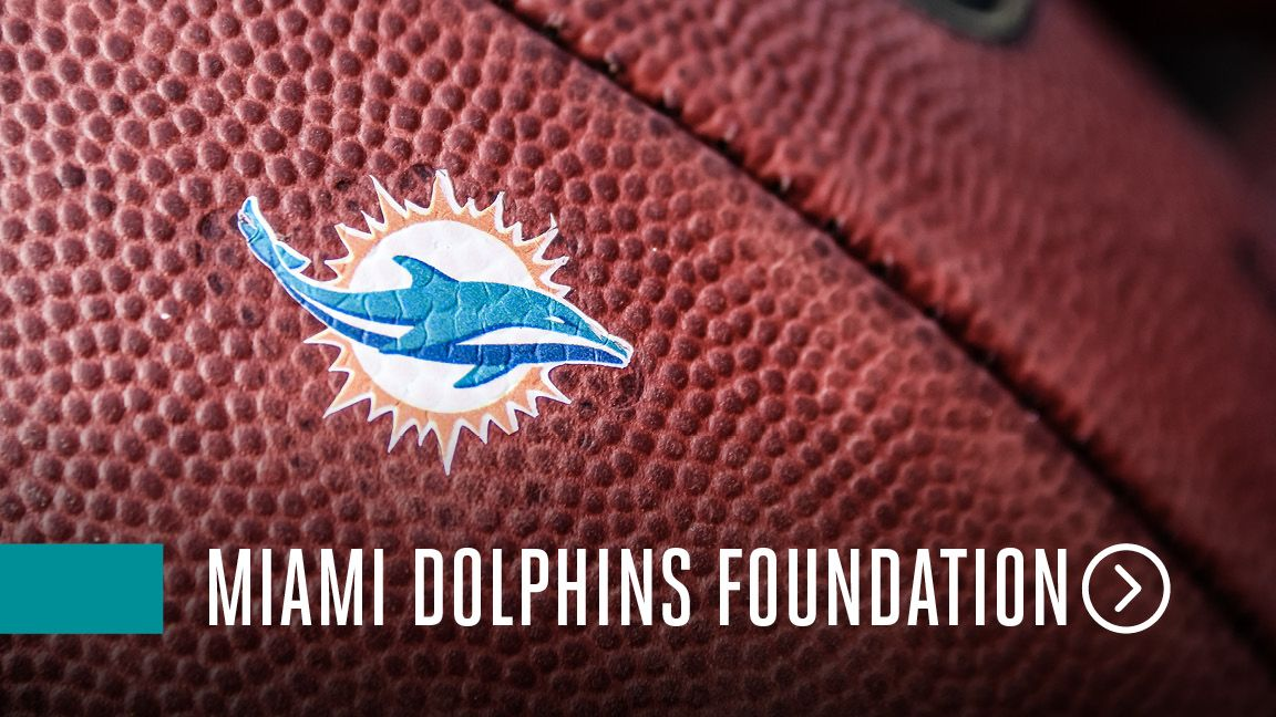 Graphic: Click To Access The Miami Dolphins Foundation Landing Page
