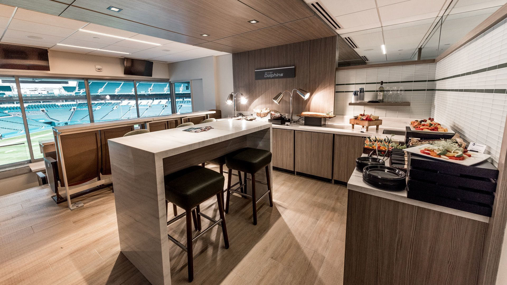 Photo: Seating Experiences - Suites