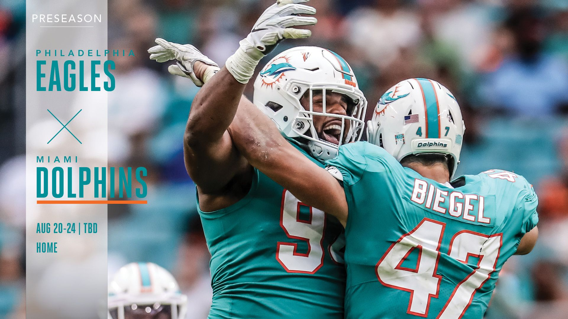 Buy Tickets: Eagles vs. Dolphins, August 20-24 at Hard Rock Stadium