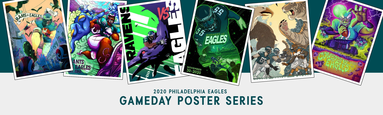 Philadelphia Eagles Gameday Poster Series