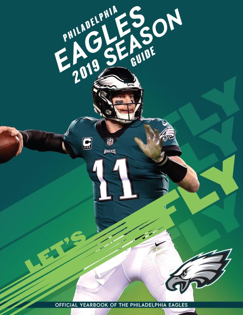 2019 Philadelphia Eagles Yearbook