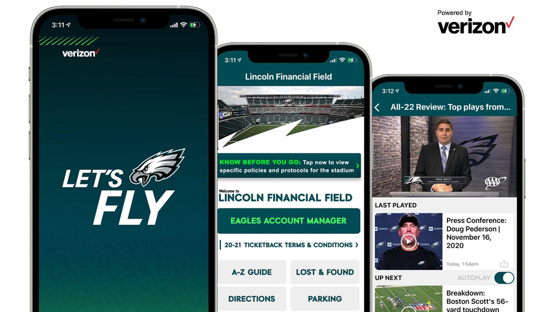 Eagles Mobile App