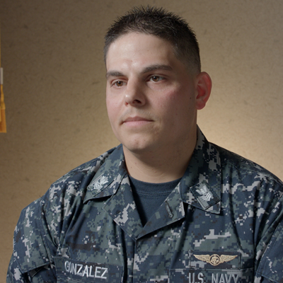 Navy Petty Officer First Class Luis Alexander Gonzalez