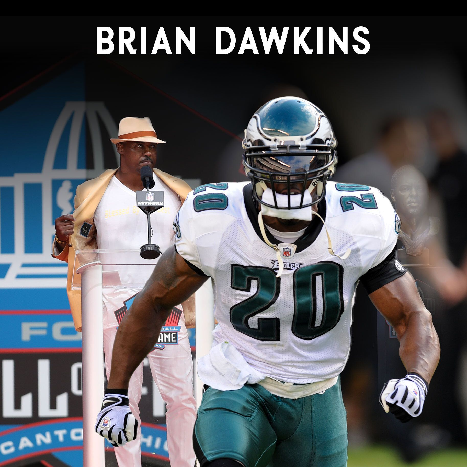 Brian Dawkins' legendary quest to the Pro Football Hall of Fame